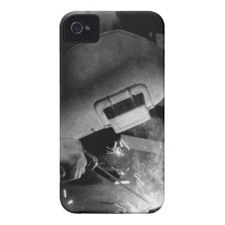 Welder at Work BlackBerry Bold Case-Mate iPhone 4 Case