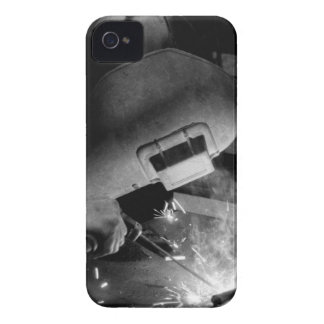 Welder at Work iPhone 4/4S Case-Mate Barely There iPhone 4 Cover