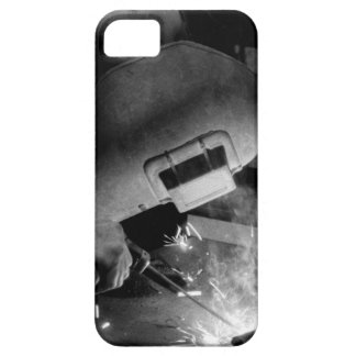 Welder at Work iPhone 5 Case-Mate Barely There iPhone SE/5/5s Case