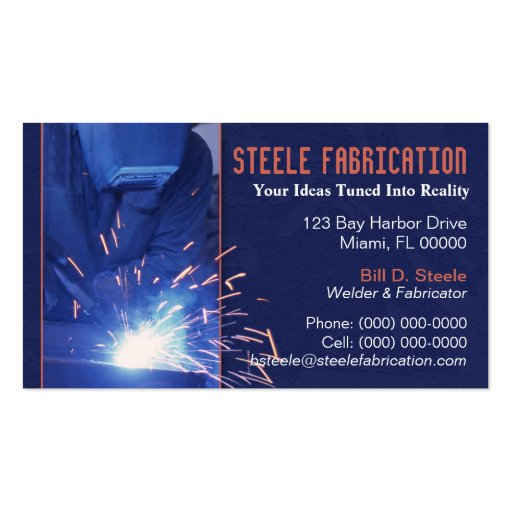 business cards templates for welding by welding business card templates bizcardstudio - Welding Business Cards