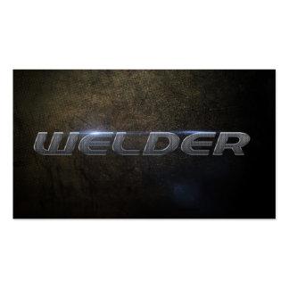 Welder Business card Tarjeta De Visita