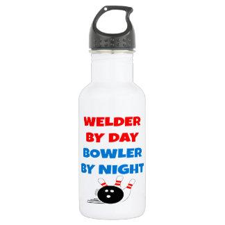 Welder by Day Bowler by Night Water Bottle