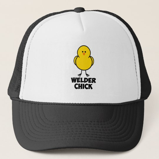 Welder Chick Trucker Hat