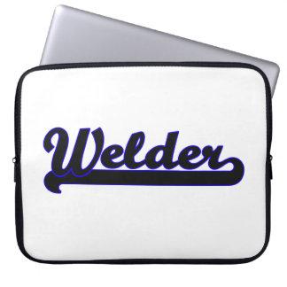 Welder Classic Job Design Computer Sleeves