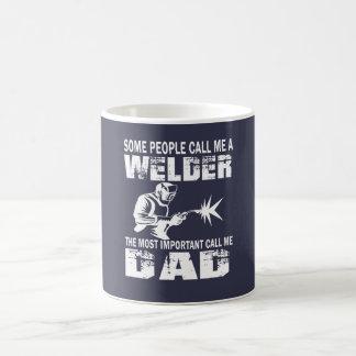 WELDER DAD COFFEE MUG
