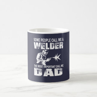 WELDER DAD COFFEE MUG