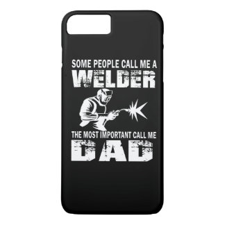 WELDER DAD iPhone 7 PLUS CASE