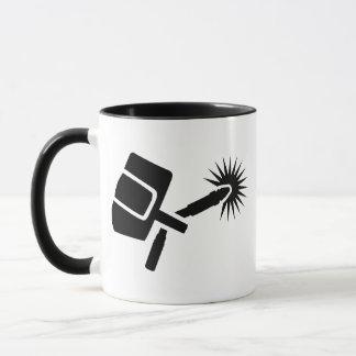 Welder equipment mug