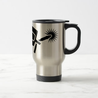 Welder equipment travel mug