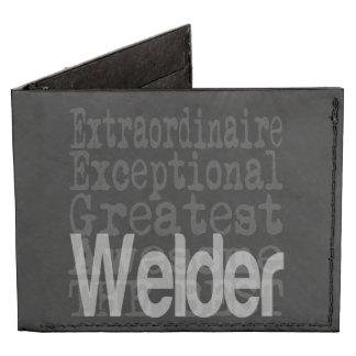 Welder Extraordinaire Tyvek® Billfold Wallet