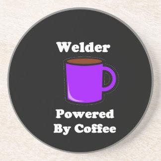 """Welder"" Powered by Coffee Coaster"