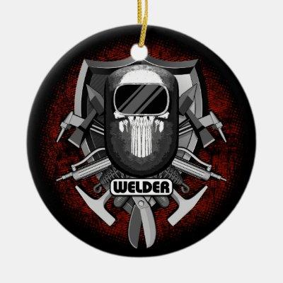 - Welder Metal Ornament Zazzle.com