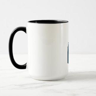 Welder Standing Visor Up Retro Mug