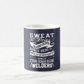 Welder Woman Coffee Mug
