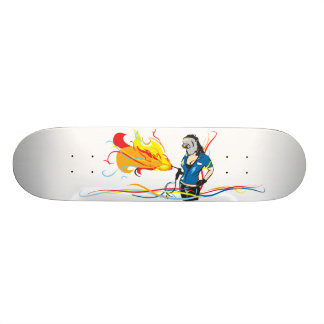 Welder Woman Skateboard Deck