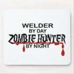 Welder Zombie Hunter Mouse Pad