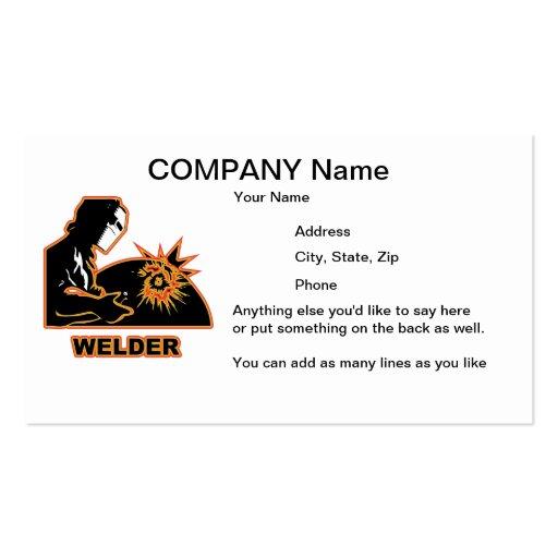 Welders Business Card