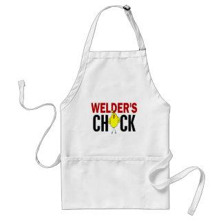 Welder's Chick Adult Apron