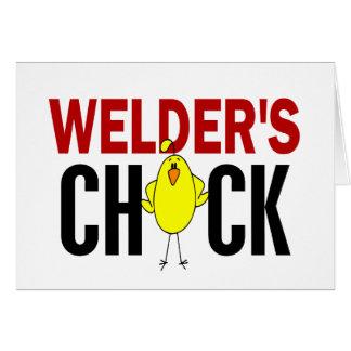 Welder's Chick Cards