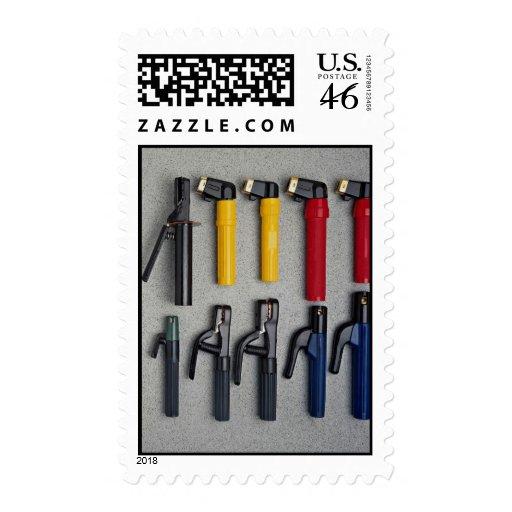 Welder's electrode holders stamps