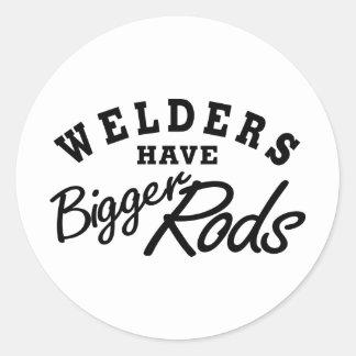 Welders Have... Classic Round Sticker