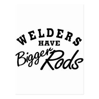 Welders Have... Postcard