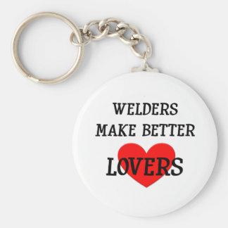 Welders Make Better Lovers Keychain
