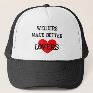 Welders Make Better Lovers Trucker Hat