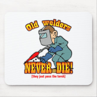 Welders Mouse Pad