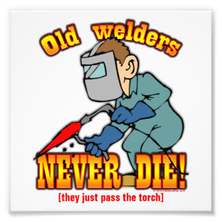 Welders Photo Print