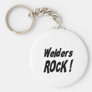 Welders Rock! Keychain