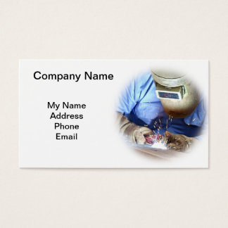 Welding and Metal Works Business Card