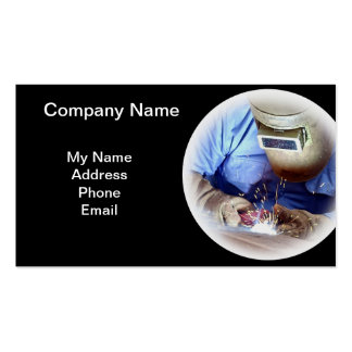 Welding and Metal Works Double-Sided Standard Business Cards (Pack Of 100)
