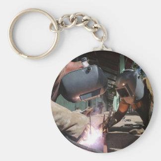 Welding Basic Round Button Keychain