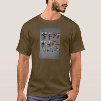 Welding bottle gauges T-Shirt