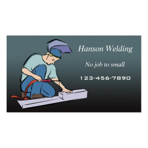 68 Welding pany Business Cards and Welding pany