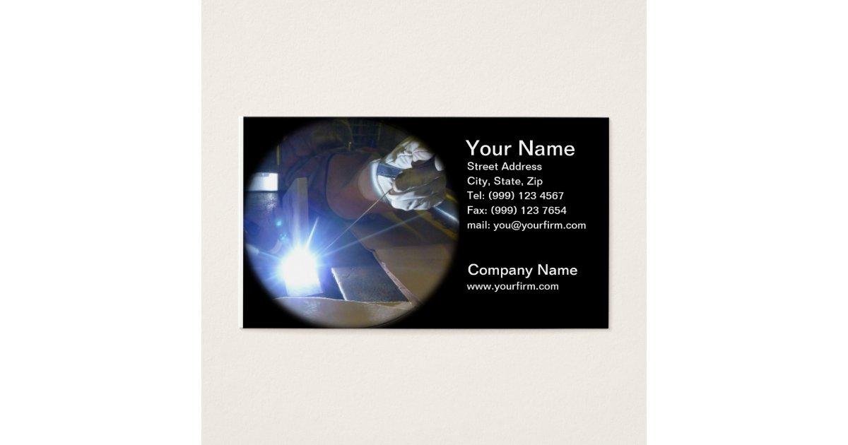 Welding Business Card | Zazzle.com