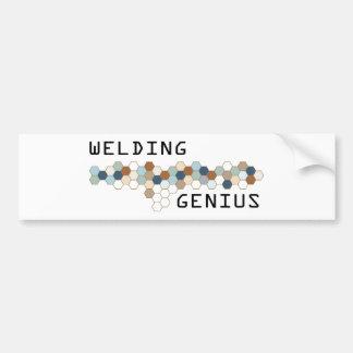 Welding Genius Bumper Sticker