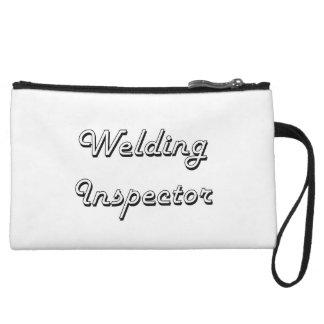 Welding Inspector Classic Job Design Wristlet Purses