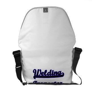 Welding Inspector Classic Job Design Messenger Bag