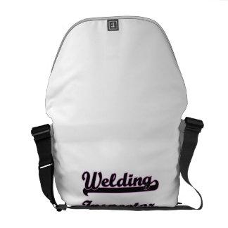 Welding Inspector Classic Job Design Courier Bags