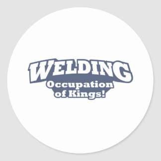Welding / Kings Classic Round Sticker