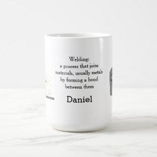 Welding Mask with Name Coffee Mug