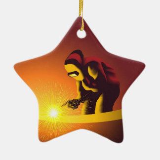 Welding Christmas Tree Ornament