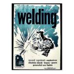Welding Postcard
