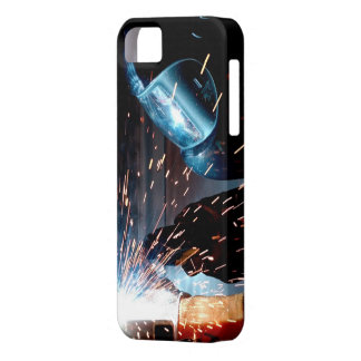 Welding Sparks iPhone 5 Cover