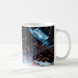 Welding Sparks Coffee Mug
