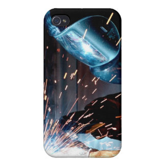 Welding Sparks iPhone 4 Case
