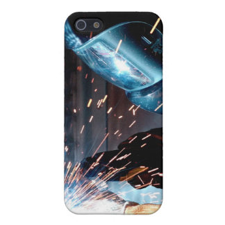 Welding Sparks Cover For iPhone 5/5S