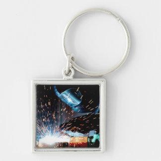Welding Sparks Keychain